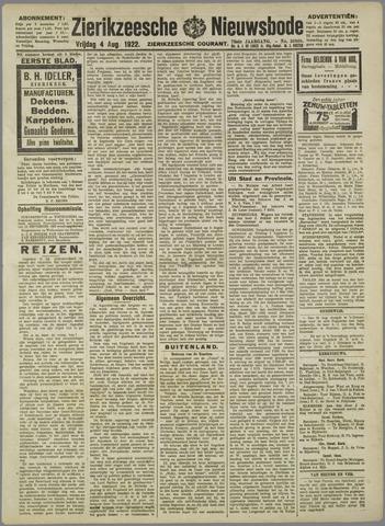 Zierikzeesche Nieuwsbode 1922-08-04