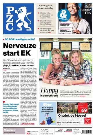 Provinciale Zeeuwse Courant 2016-06-11