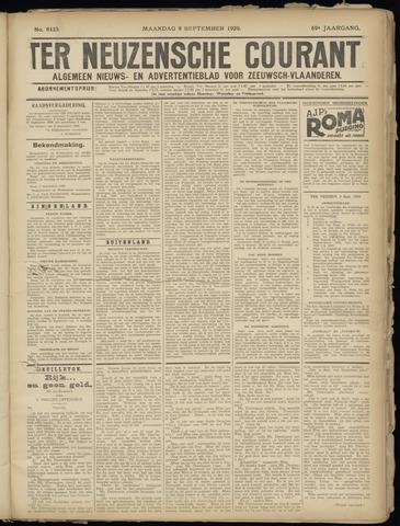 Ter Neuzensche Courant. Algemeen Nieuws- en Advertentieblad voor Zeeuwsch-Vlaanderen / Neuzensche Courant ... (idem) / (Algemeen) nieuws en advertentieblad voor Zeeuwsch-Vlaanderen 1929-09-09