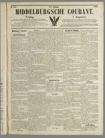 Middelburgsche Courant 1908-08-07