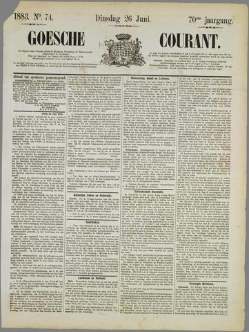 Goessche Courant 1883-06-26