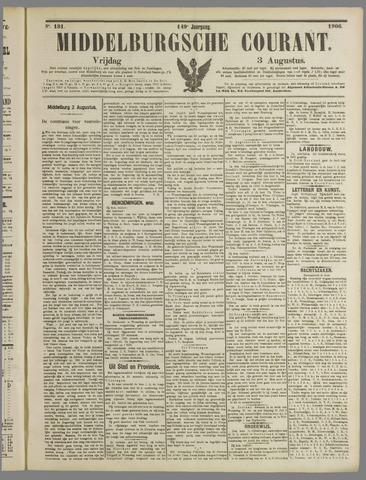 Middelburgsche Courant 1906-08-03