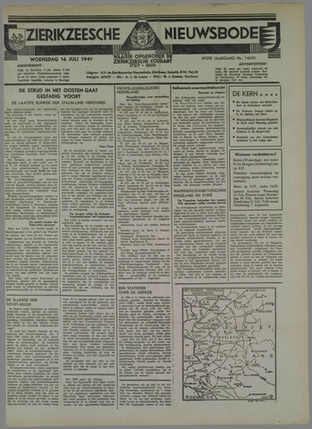 Zierikzeesche Nieuwsbode 1941-07-15
