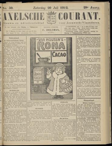 Axelsche Courant 1912-07-20