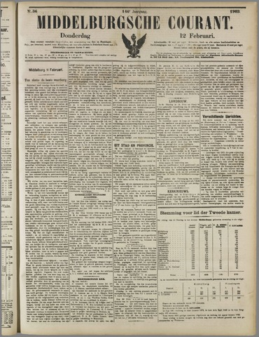 Middelburgsche Courant 1903-02-12