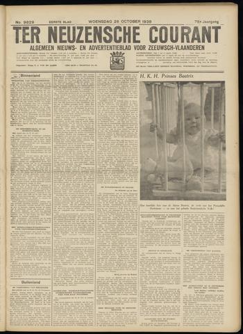 Ter Neuzensche Courant. Algemeen Nieuws- en Advertentieblad voor Zeeuwsch-Vlaanderen / Neuzensche Courant ... (idem) / (Algemeen) nieuws en advertentieblad voor Zeeuwsch-Vlaanderen 1938-10-26