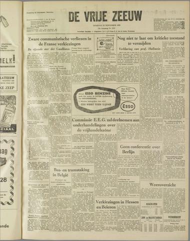 de Vrije Zeeuw 1958-11-25