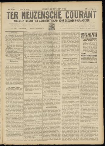 Ter Neuzensche Courant. Algemeen Nieuws- en Advertentieblad voor Zeeuwsch-Vlaanderen / Neuzensche Courant ... (idem) / (Algemeen) nieuws en advertentieblad voor Zeeuwsch-Vlaanderen 1935-10-18