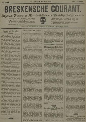 Breskensche Courant 1914-10-17