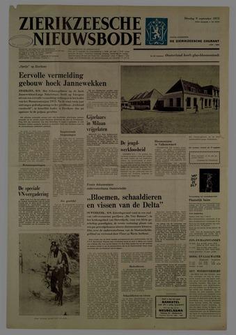 Zierikzeesche Nieuwsbode 1975-09-09