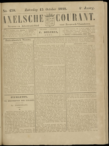Axelsche Courant 1888-10-13
