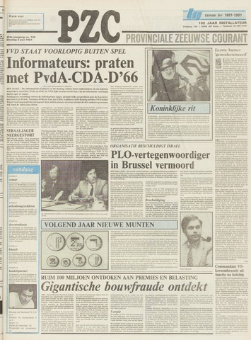 Provinciale Zeeuwse Courant 1981-06-02