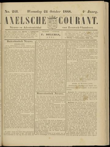 Axelsche Courant 1888-10-24