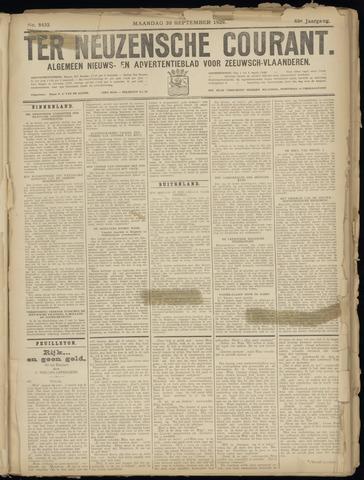 Ter Neuzensche Courant. Algemeen Nieuws- en Advertentieblad voor Zeeuwsch-Vlaanderen / Neuzensche Courant ... (idem) / (Algemeen) nieuws en advertentieblad voor Zeeuwsch-Vlaanderen 1929-09-30