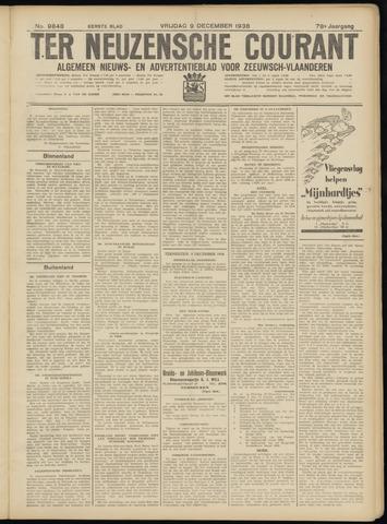 Ter Neuzensche Courant. Algemeen Nieuws- en Advertentieblad voor Zeeuwsch-Vlaanderen / Neuzensche Courant ... (idem) / (Algemeen) nieuws en advertentieblad voor Zeeuwsch-Vlaanderen 1938-12-09