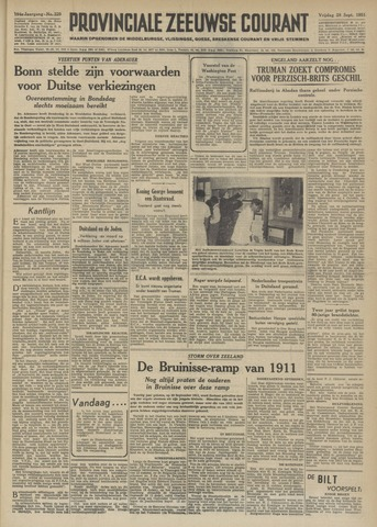 Provinciale Zeeuwse Courant 1951-09-28