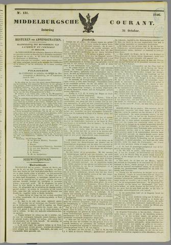 Middelburgsche Courant 1846-10-31