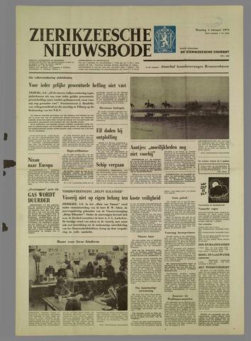 Zierikzeesche Nieuwsbode 1974-02-04