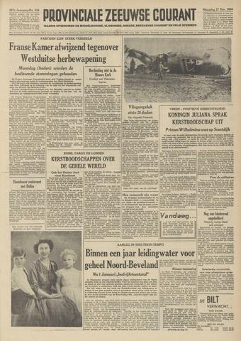 Provinciale Zeeuwse Courant 1954-12-27