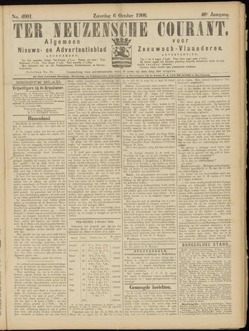 Ter Neuzensche Courant. Algemeen Nieuws- en Advertentieblad voor Zeeuwsch-Vlaanderen / Neuzensche Courant ... (idem) / (Algemeen) nieuws en advertentieblad voor Zeeuwsch-Vlaanderen 1906-10-06