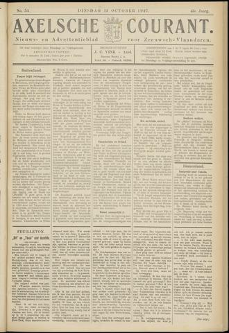 Axelsche Courant 1927-10-11