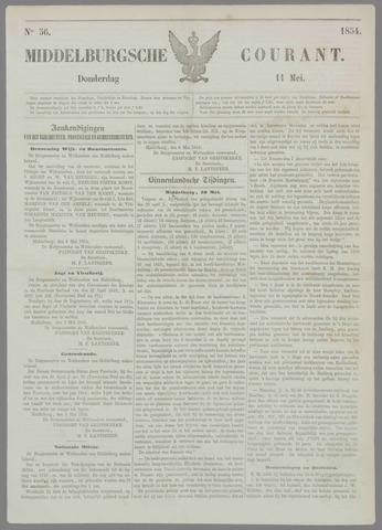Middelburgsche Courant 1854-05-11