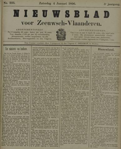 Nieuwsblad voor Zeeuwsch-Vlaanderen 1896-01-04