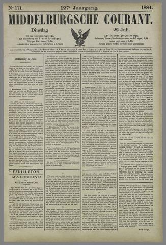 Middelburgsche Courant 1884-07-22