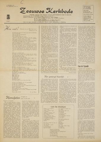 Zeeuwsche kerkbode, weekblad gewijd aan de belangen der gereformeerde kerken/ Zeeuwsch kerkblad 1970-01-08