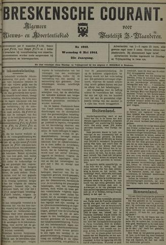 Breskensche Courant 1914-05-06