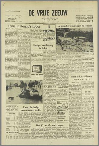 de Vrije Zeeuw 1963-02-23