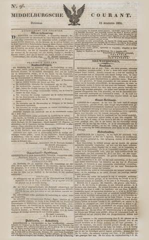 Middelburgsche Courant 1834-08-12