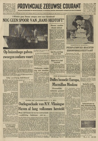 Provinciale Zeeuwse Courant 1959-02-02