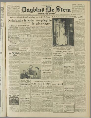 de Stem 1952-12-27