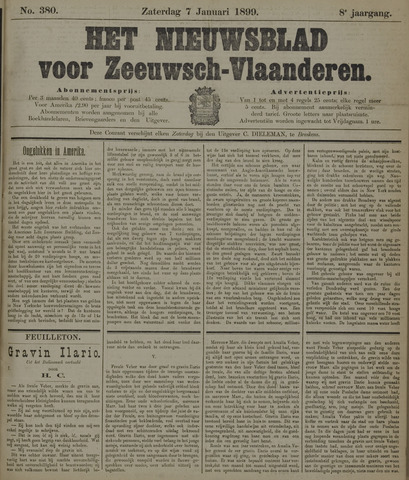 Nieuwsblad voor Zeeuwsch-Vlaanderen 1899-01-07
