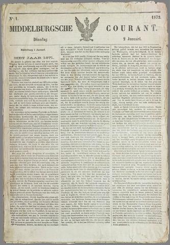 Middelburgsche Courant 1872-01-02