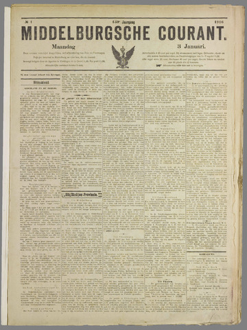 Middelburgsche Courant 1916