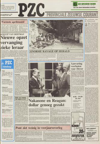 Provinciale Zeeuwse Courant 1987-05-02