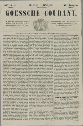 Goessche Courant 1867-01-11