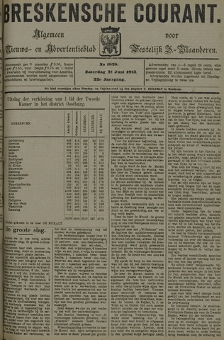 Breskensche Courant 1913-06-21