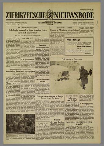 Zierikzeesche Nieuwsbode 1962