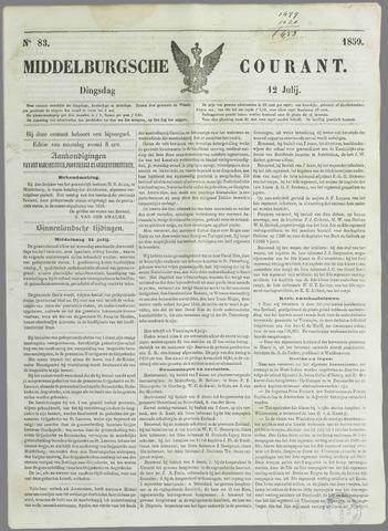 Middelburgsche Courant 1859-07-12