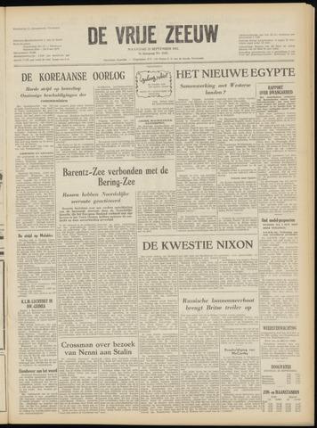 de Vrije Zeeuw 1952-09-22