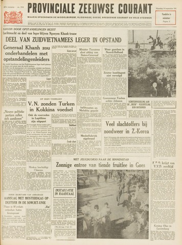 Provinciale Zeeuwse Courant 1964-09-14
