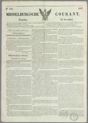 Middelburgsche Courant 1857-12-22