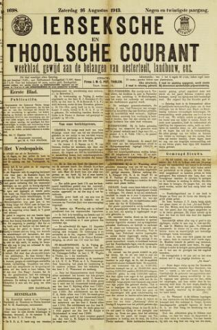 Ierseksche en Thoolsche Courant 1913-08-16