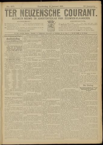 Ter Neuzensche Courant. Algemeen Nieuws- en Advertentieblad voor Zeeuwsch-Vlaanderen / Neuzensche Courant ... (idem) / (Algemeen) nieuws en advertentieblad voor Zeeuwsch-Vlaanderen 1915-01-21