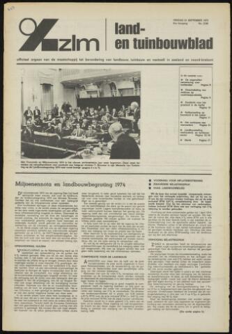 Zeeuwsch landbouwblad ... ZLM land- en tuinbouwblad 1973-09-21