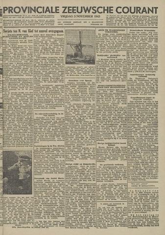 Provinciale Zeeuwse Courant 1943-11-05