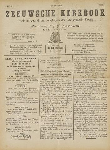 Zeeuwsche kerkbode, weekblad gewijd aan de belangen der gereformeerde kerken/ Zeeuwsch kerkblad 1888-01-28